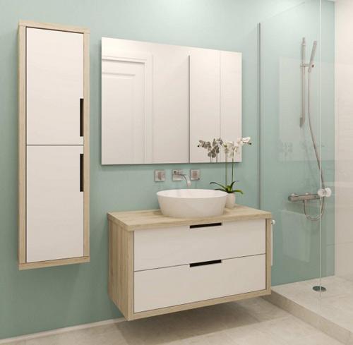Muebles de baño a medida 80cm